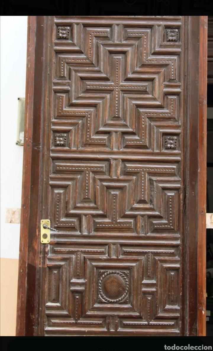 ANTIGUA PUERTA (Antigüedades - Muebles Antiguos - Bargueños Antiguos)