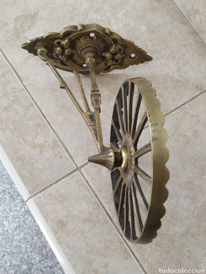 Antigüedades: Soporte de bronce - Foto 5 - 213740845