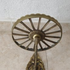 Antigüedades: SOPORTE DE BRONCE. Lote 213740845