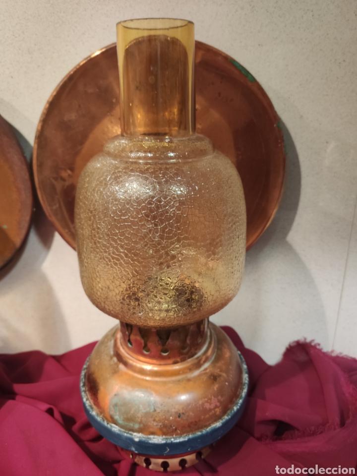 Antigüedades: Dos apliques vintage - Foto 3 - 213744296