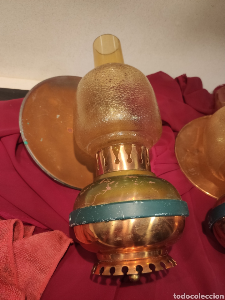Antigüedades: Dos apliques vintage - Foto 4 - 213744296