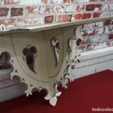 Antiquités: REPISA PARA SANTOS ESTILO GÓTICO, SIGLO XIX. Lote 213750553