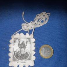 Antigüedades: ANTIGUO ESCAPULARIO DE SAN RAMON. Lote 213761223