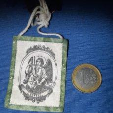 Antigüedades: ANTIGUO ESCAPULARIO DE SAN RAFAEL. Lote 213761307