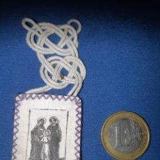 Antigüedades: ANTIGUO ESCAPULARIO DE LA SAGRADA FAMILIA. Lote 213761933