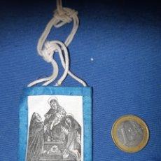 Antigüedades: ANTIGUO ESCAPULARIO DE NUESTRA SEÑORA DEL ROSARIO. Lote 213762872