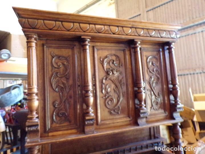 Antigüedades: precioso aparador alacena restaurado para masia casa rural restaurante muy buen estado - Foto 2 - 213763662