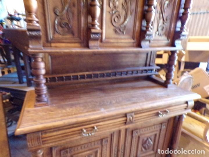 Antigüedades: precioso aparador alacena restaurado para masia casa rural restaurante muy buen estado - Foto 3 - 213763662