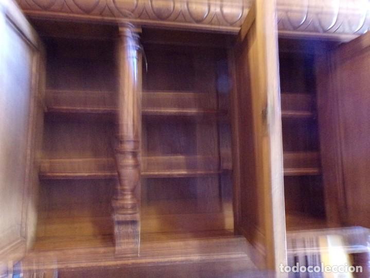 Antigüedades: precioso aparador alacena restaurado para masia casa rural restaurante muy buen estado - Foto 8 - 213763662