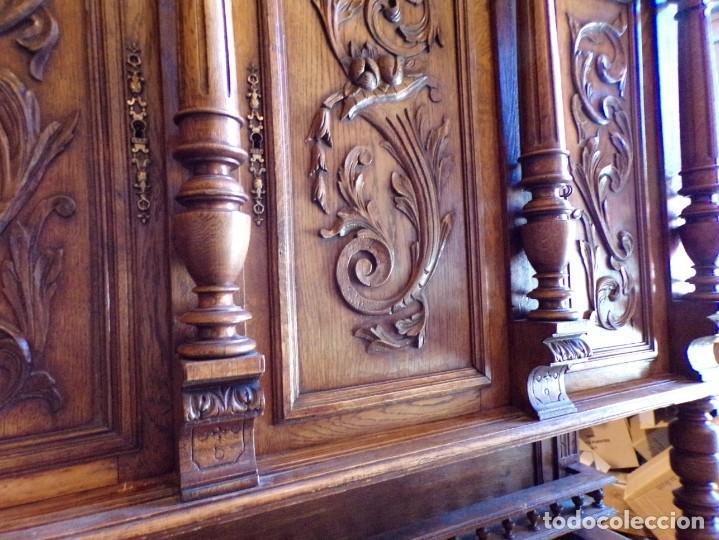 Antigüedades: precioso aparador alacena restaurado para masia casa rural restaurante muy buen estado - Foto 15 - 213763662