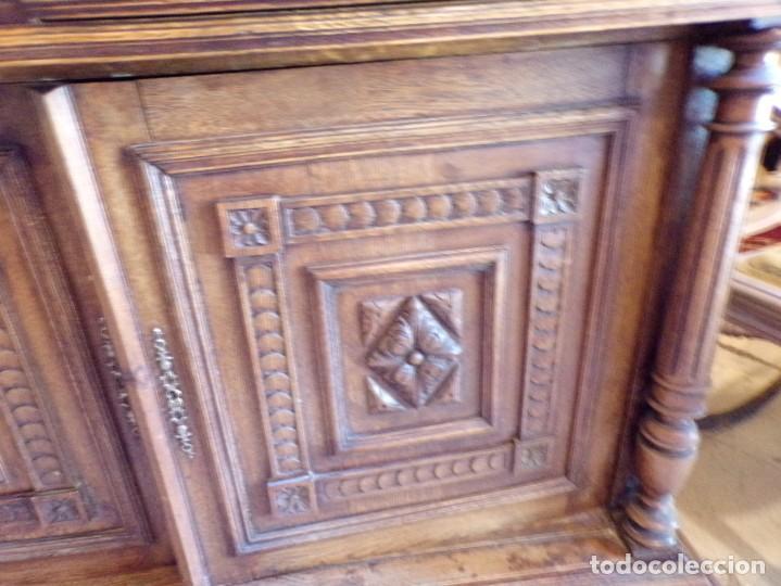 Antigüedades: precioso aparador alacena restaurado para masia casa rural restaurante muy buen estado - Foto 16 - 213763662