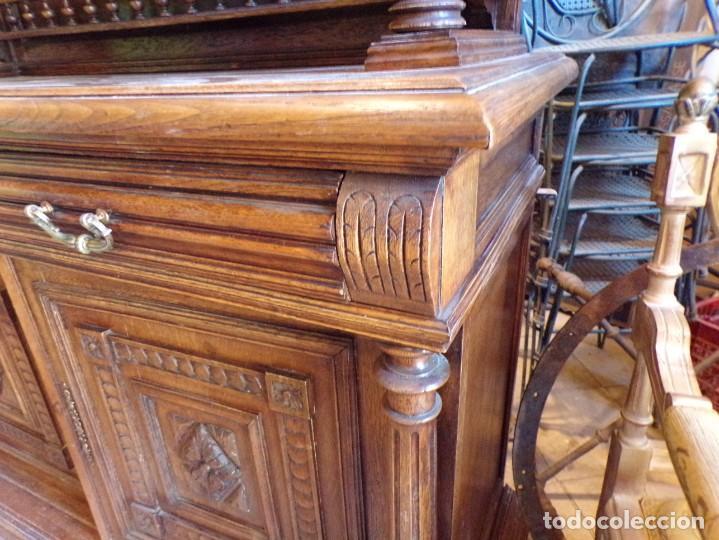 Antigüedades: precioso aparador alacena restaurado para masia casa rural restaurante muy buen estado - Foto 17 - 213763662