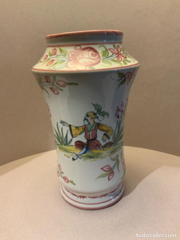 ALBARELO FAITANAR CHINESCO (Antigüedades - Porcelanas y Cerámicas - Alcora)