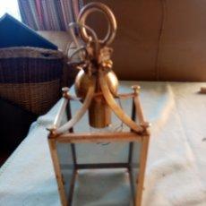 Antigüedades: ANTIGUO FAROL DE TECHO. Lote 213830745