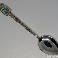 Antigüedades: CUCHARA CUCHARILLA DE METAL PLATEADO CASABLANCA. 11,2 CM. VER FOTOS PARA VER DETALLES.. Lote 213851787