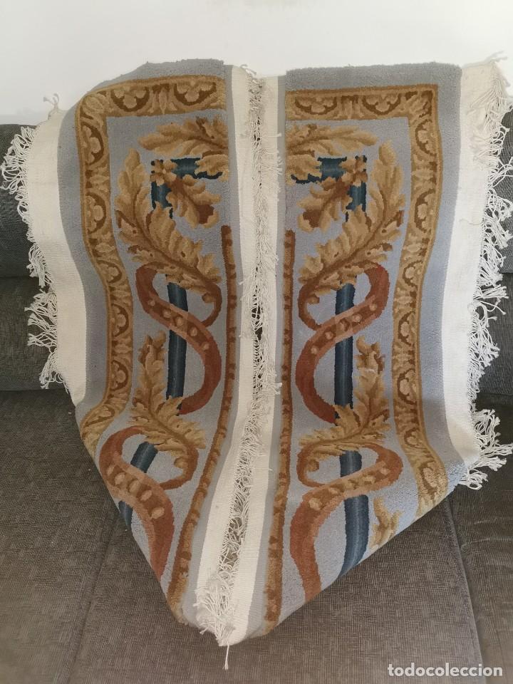 ESPECTACULAR ALFOMBRA DE LANA VIRGEN. LA ALPUJARREÑA. AÑOS 80. (Antigüedades - Hogar y Decoración - Alfombras Antiguas)