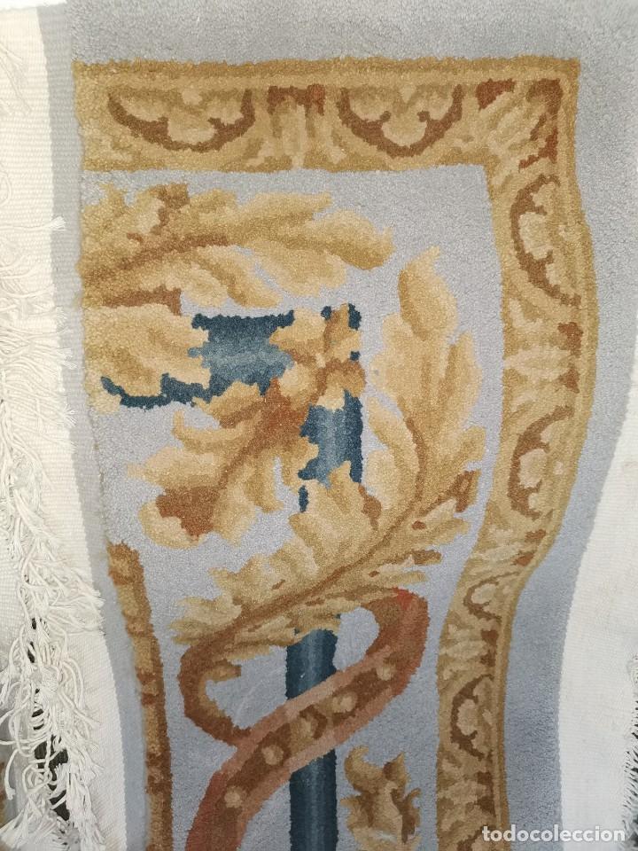 Antigüedades: Espectacular alfombra de lana virgen. La alpujarreña. Años 80. - Foto 2 - 213859886