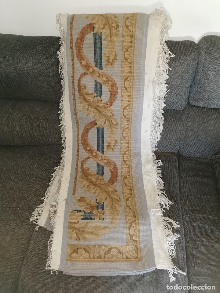 Antigüedades: Espectacular alfombra de lana virgen. La alpujarreña. Años 80. - Foto 3 - 213859886