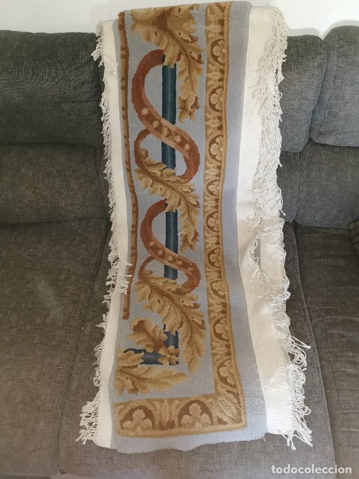 Antigüedades: Espectacular alfombra de lana virgen. La alpujarreña. Años 80. - Foto 4 - 213859886