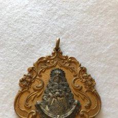 Antigüedades: RELIGIOSA. VIRGEN. ANTIQUÍSIMA MEDALLA DE LA HERMANDAD DEL ROCÍO DE SANLUCAR LA MAYOR. SEVILLA. Lote 213871891