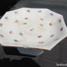 Antigüedades: FRUTERO MUY ANTIGUO CARTUJA PICKMAN FILO DORADO-VER DESCRIPCION... Lote 44666696