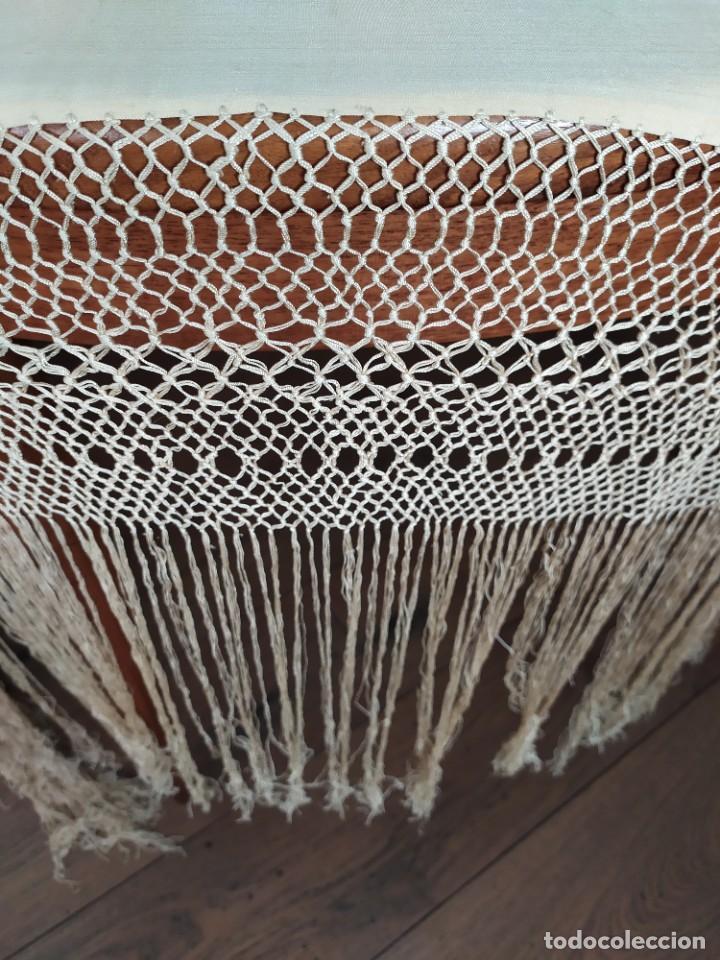 Antigüedades: Impresionante mantón de Manila del S. XIX - Foto 35 - 213877765