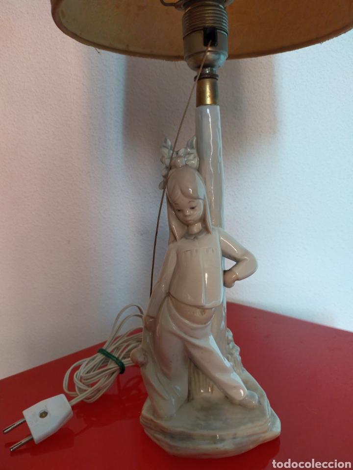 Antigüedades: Lámpara lladró - Foto 2 - 261214055