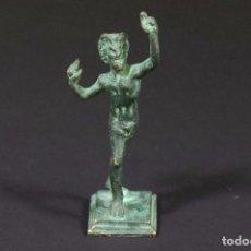 Antigüedades: ESTATUILLA DE BRONCE – GUERRERO – REPLICA DE MUSEO (ITALIA). Lote 213891876