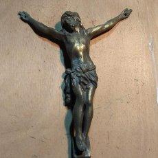 Oggetti Antichi: JESUCRISTO CRUCIFICADO DE METAL.. Lote 213897756