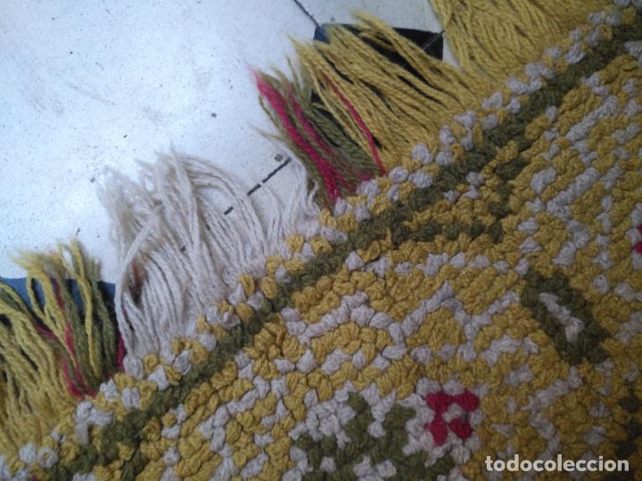 Antigüedades: ANTIGUA ALFOMBRA LANA ALPUJARREÑA s.r.c AÑOS 40S APROXIMADAMENTE GRAN TAMAÑO GRANADA LAZUBILA - Foto 32 - 213909706