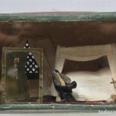 Antigüedades: ANTIGUA CELDA DE MONJA DE VIDA CONTEMPLATIVA. ORANDO ANTE ALTAR. SIGLO XIX. Lote 213909761