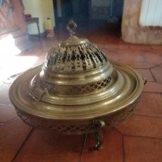 Antigüedades: BRASERO DE BRONCE. Lote 213909798