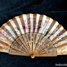 Antigüedades: ABANICO ISABELINO S.XIX. Lote 213944683