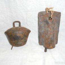 Antigüedades: ANTIGUOS CENCERROS. Lote 213977212