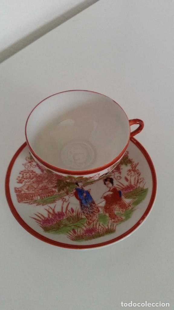 SOLITARIO PORCELANA MUY FINA MAD CHINA ES ORIGINALE (Antigüedades - Porcelanas y Cerámicas - China)