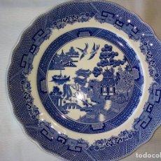 Antigüedades: VAJILLA BLUE WILLOW CHURCHILL. Lote 213979065