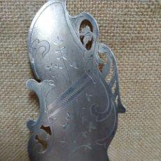 Antigüedades: PALA DE SERVIR MODERNISTA .PPIOS SIGLO XX .PLATA DE LEY CONTRASTADA .. Lote 213986251