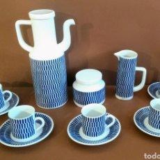 Antigüedades: JUEGO CAFÉ CASTRO 5 SERVICIOS SARGADELOS. Lote 213989188