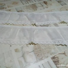 Antigüedades: BONITOS VOLANTES PARA ESTANTERIAS. Lote 213990612