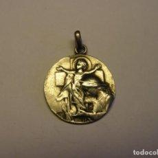 Antigüedades: ANTIGUA MEDALLA RELIGIOSA XIX CENTENARIO NACIMIENTO DE JESÚS, DE PLATA, AÑO 1900.. Lote 213992065