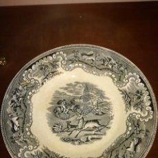 Antigüedades: PLATO SOPERO DE LOZA LA AMISTAD CARTAGENA. Lote 214013985