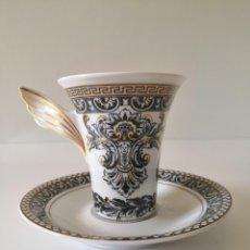 Antigüedades: VERSACE MARQUETERIE - ROSENTHAL - TAZA CAFE - PAUL WUNDERLICH. Lote 214015691