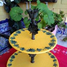 Antigüedades: FRUTERO ANTIGUO DE CERÁMICA ARCOLA. Lote 214023712