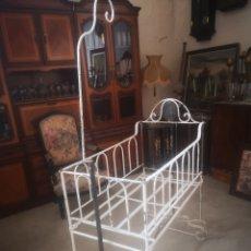 Antigüedades: ANTIGUA CUNA TIPO BALANCÍN S. XIX. Lote 214038176