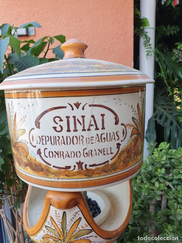 Antigüedades: Antigua depuradora de sinai - Foto 11 - 214046328
