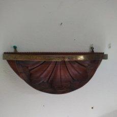 Antiquités: MÉNSULA PALOSANTO ,CAOBA Y BRONCE .FINALES DEL XIX. Lote 214064945
