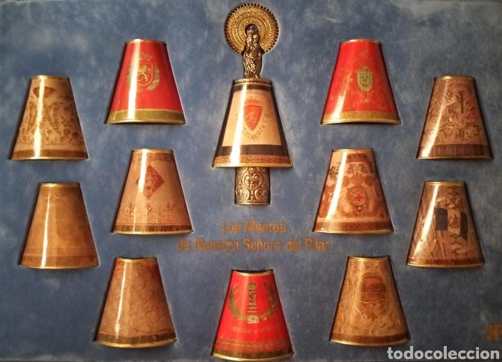 LOS MANTOS DE LA VIRGEN DEL PILAR (Antigüedades - Religiosas - Varios)