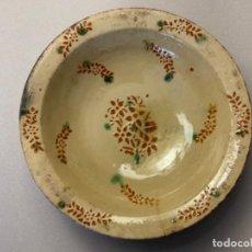 Antigüedades: GRAN PLATA DE LA BISBAL (S.XIX). Lote 214102220