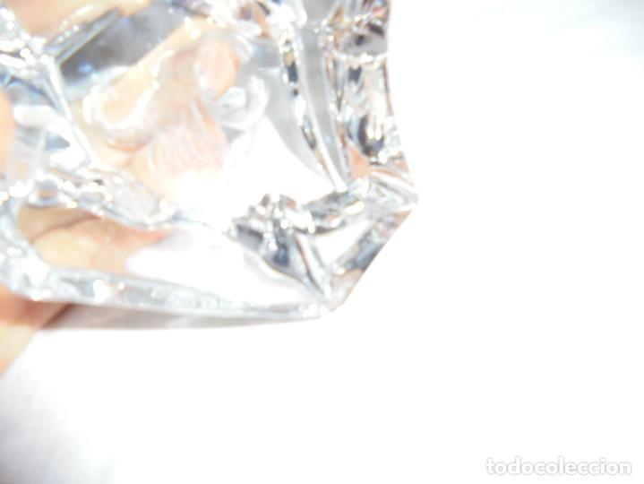 Antigüedades: PISAPAPELES CRISTAL CON ESCORPION FIRMADO VAL ST LAMBERT BELGICA - Foto 3 - 214135130
