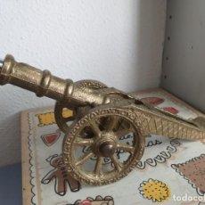 Antigüedades: CAÑON DE BRONCE. Lote 214150250